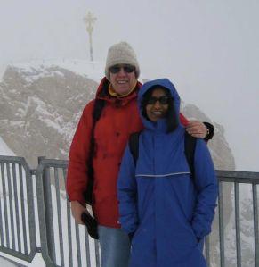 Mt Zugspitze, Germany