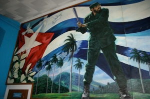 cuban-hall-of-fame-a-full-wall-mural-of-fidel-castro